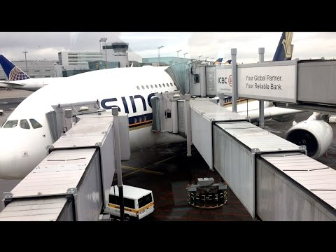 SINGAPORE AIRLINES A380 BUSINESS CLASS | FRANKFURT TO SINGAPORE | FlyAround