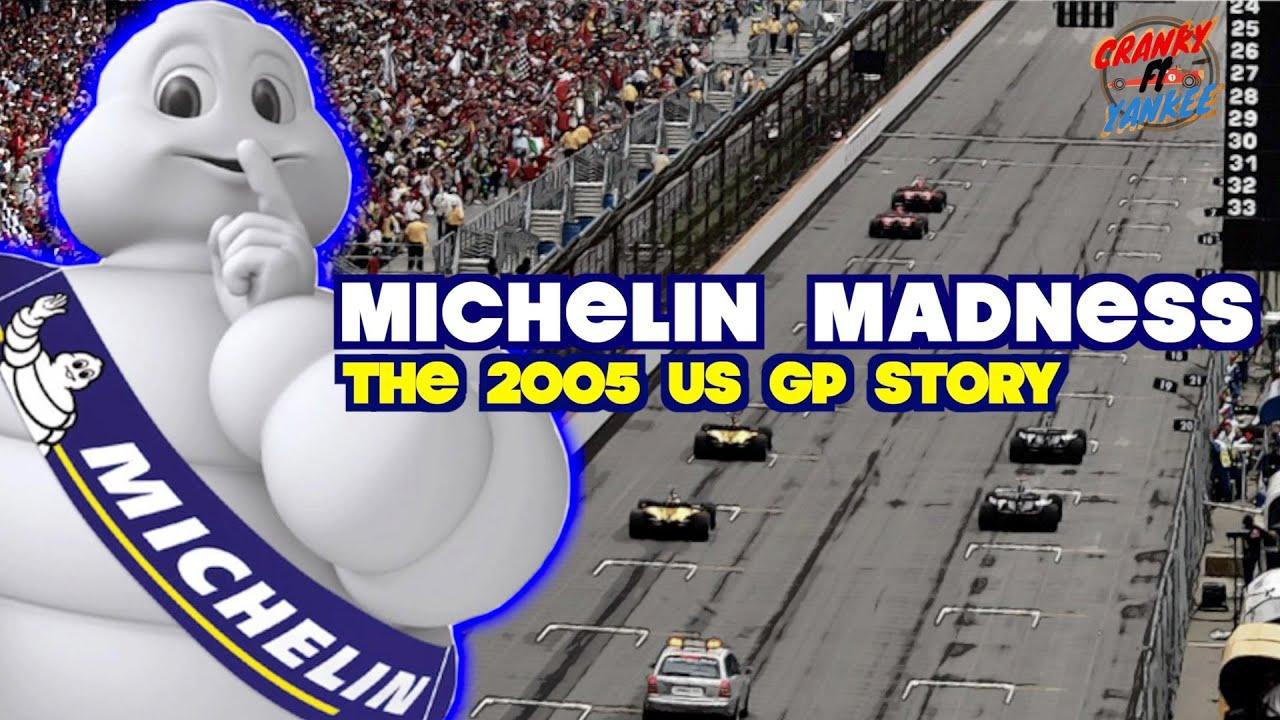 The 2005 US Grand Prix Formula 1 Story: F1's Brickyard Blowup