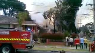 Fire In Croydon Melbourne Pt 2