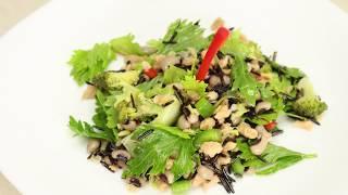 How to Prepare Wild Rice Salad- CocinaTv by Juan Gonzalo Angel
