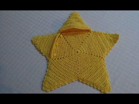 Capullo estrella tejido en crochet facil y rapido. - YouTube