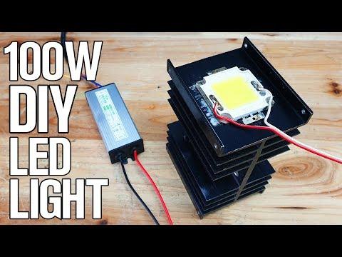 DIY 100 Watt LED + LED Driver for 10$