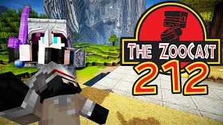 Minecraft Jurassic World (Jurassic Park) ZooCast - #212 Connecting Two Exhibits!
