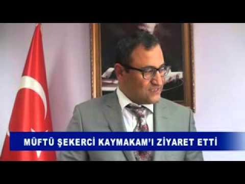 MÜFTÜ ŞEKERCİ KAYMAKAM'I ZİYARET ETTİ