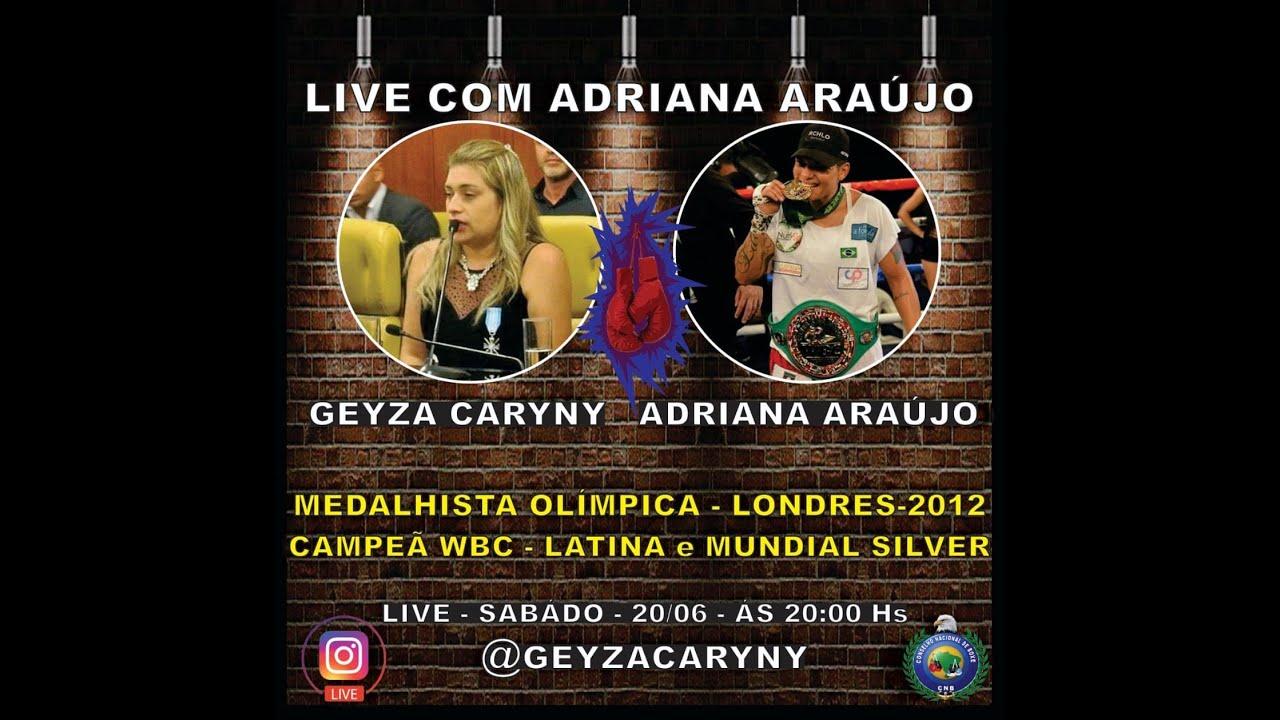 Live: Geyza Caryny e Adriana Araújo
