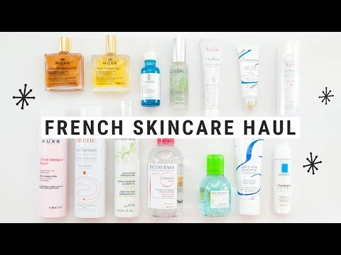 French Pharmacy Skincare Haul (French Girl Secrets!)