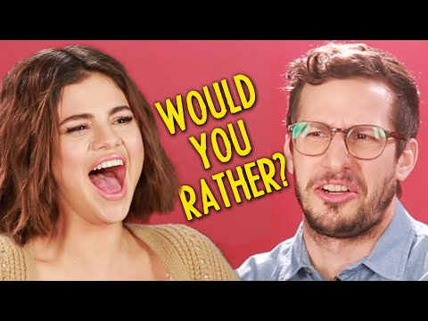 """Selena Gomez And The Cast Of """"Hotel Transylvania 3"""" Play Monster Would You Rather"""