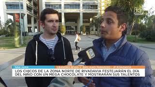 Rivadavia: Día del niño con mega chocolate y muestra de talentos