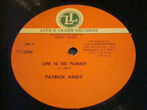 Patrick Andy Life Is So Funny With Version - Live & Learn 12 Inch - DJ APR
