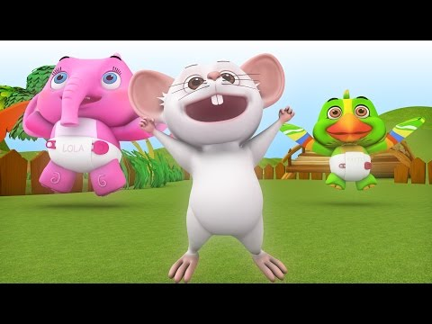 If You're Happy And You Know It | Popular Cartoon Nursery Rhymes & Happy Kids Songs Collection