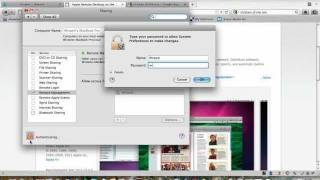 How to remote desktop to your Mac OS X for free!