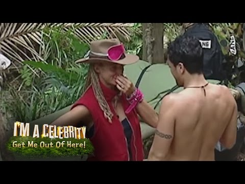 Peter Andre And Jordan Check Each Other Out  I'm A Celebrity...Get Me Out Of Here!