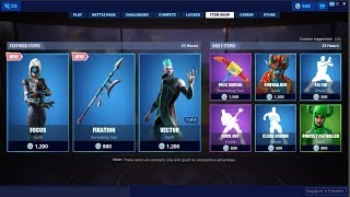 *NEW*Focus Skin ! Fortnite Item Shop July 12, 2019