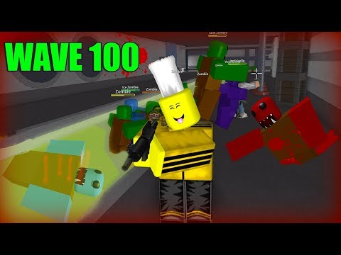 Fighting The Wave 51 Boss In Roblox Zombie Attack Youtube - roblox zombie attack