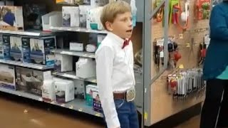 10-Year-Old Yodels Inside Walmart thumbnail