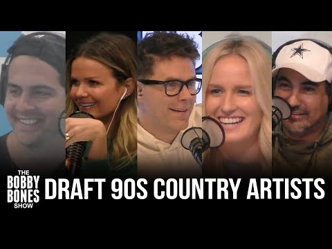 The Show Drafts 90s Country Artists