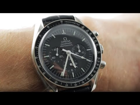 Omega Speedmaster Professional Moonwatch Chronograph 311.33.42.30.01.001 Omega Watch Review