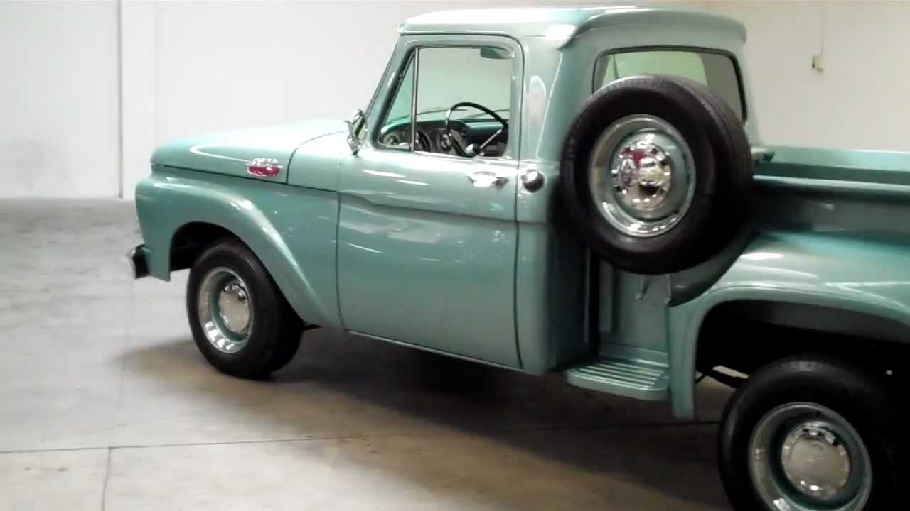 1964 ford f 100 flareside original sold occlassiccars com youtube