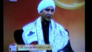 Tuan Guru Syeikh Nuruddin  - Kelebihan Menuntut Ilmu 1/3 (CINTA ILMU)