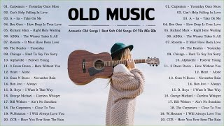 Acoustic Old Music | Best Soft Old Songs Of 70s 80s 90s