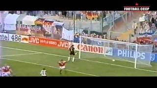 401.ЧЕ 1992 Германия-СНГ 1-1 - UEFA Euro 1992 Germany-CIS (USSR) 1-1