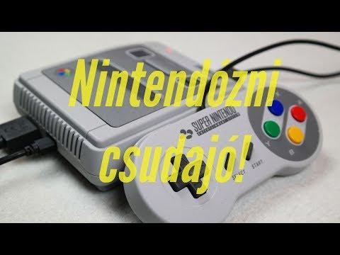 Nintendózni csudajó! | SNES Mini Classic teszt