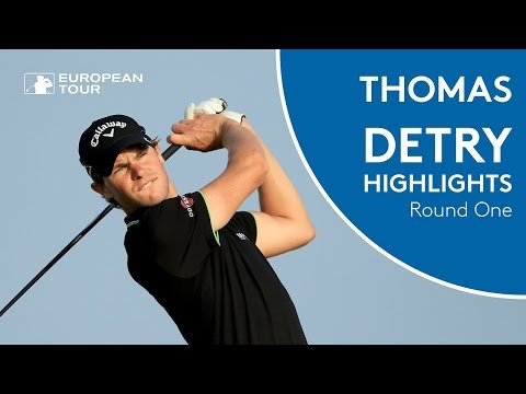 Thomas Detry Highlights | Round 1 | 2018 Commerical Bank Qatar Masters
