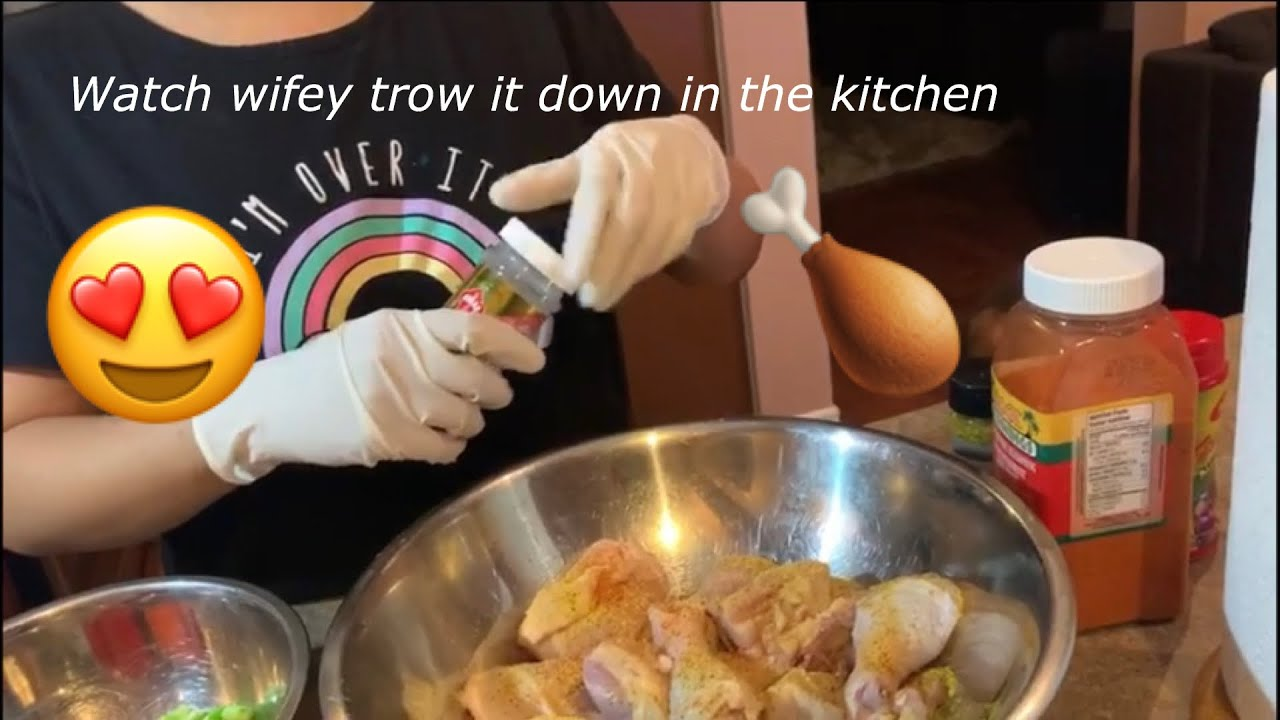Download Teaching my wife how to cook curry chicken 🍗!!
