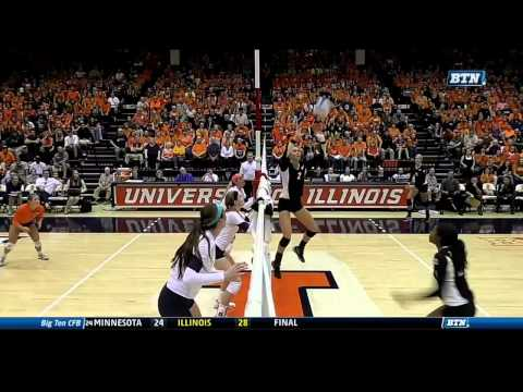 Illinois vs. Purdue Volleyball Highlights - BTN Broadcast