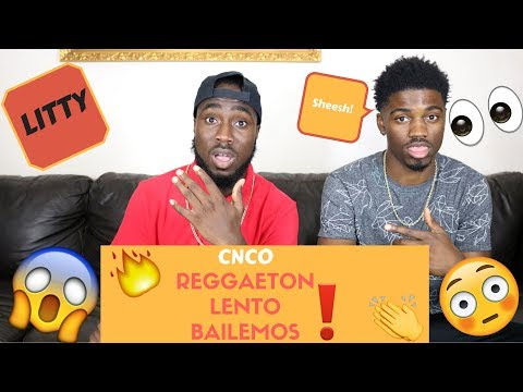 CNCO - Reggaetón Lento (Bailemos) | Official Reaction
