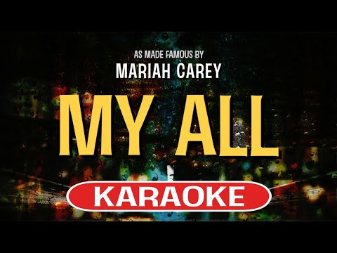 My All (Karaoke Version) - Mariah Carey | TracksPlanet