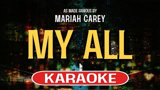 My All (Karaoke Version) - Mariah Carey