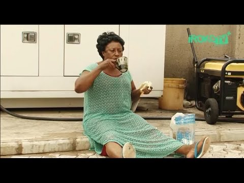 Patience Ozokwor [Mama G] Takes Fuel & Bread For Breakfast - Nigerian Nollywood Movies