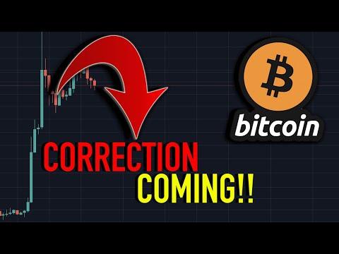 [URGENT] BITCOIN CORRECTION MOVE Coming This Week! Bitcoin Price Analysis