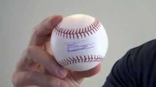Brett Gardner Autographed Baseball - Psa/dna
