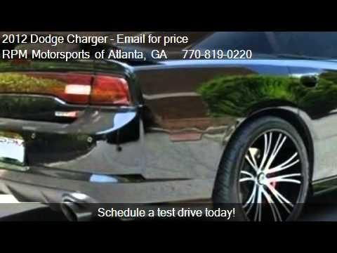 2012 dodge charger for sale in atlanta ga 30340 youtube. Black Bedroom Furniture Sets. Home Design Ideas