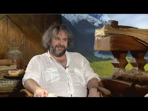 Peter Jackson - The Hobbit: The Desolation of Smaug Interview HD