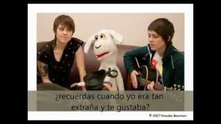 Tegan and Sara - Back in your head (Sub. Español)