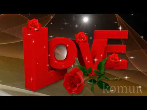 СУПЕР ВАЛЕНТИНКА#красивая музыкальная открытка#  Komur