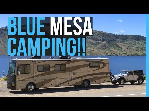 FULL TIME RVING COLORADO | BLUE MESA RESERVOIR RV PARK