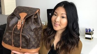 FIRST Ebay Purchase | Louis Vuitton Montsouris MM