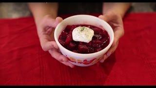 Traditional Ukrainian Borscht Recipe