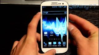JellyBomb JellyBean Rom on the Sprint Samsung Galaxy S III [REVIEW]