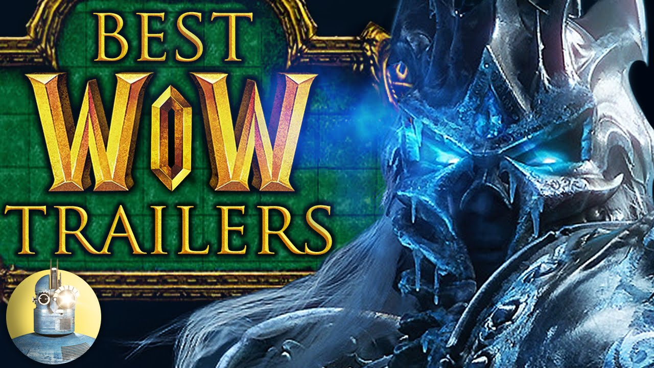 Top 10 World of Warcraft Cinematic Trailers (@Cinematica)