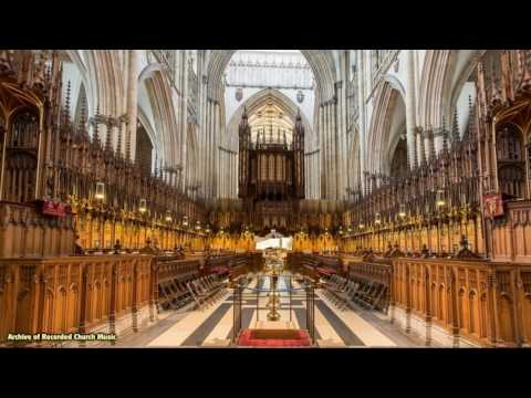 """""""Britain's Cathedrals & their Music"""" 8: York Minster 1966 (Francis Jackson)"""