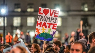 LONDON TRUMP PROTEST Jan 30th
