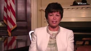 Valerie Jarrett Introduces the CWG Website