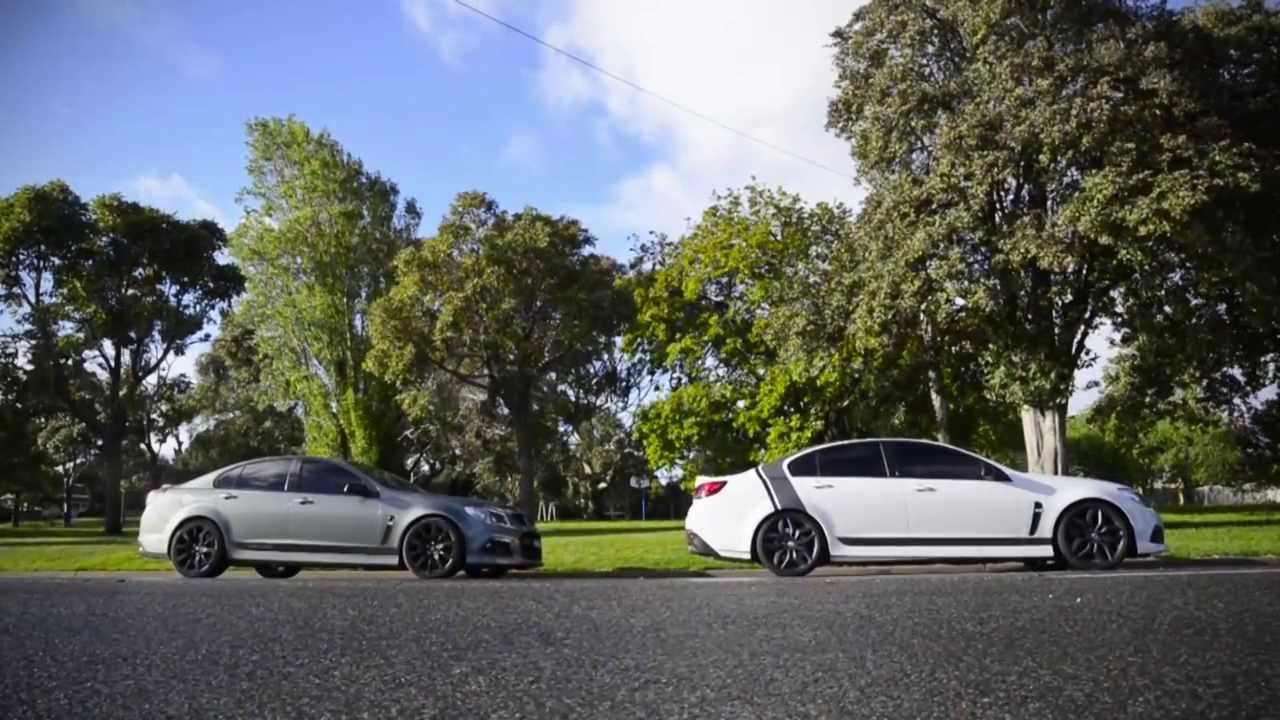 Walkinshaw Performance W457 and W497  Supercharged WMDs