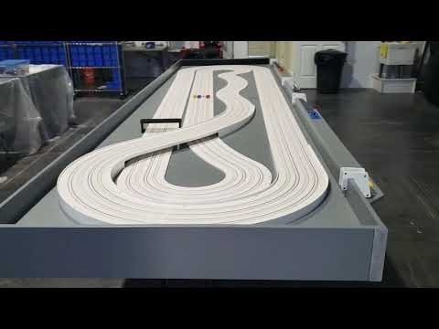 Race Ready HO Slot Car Track 4×16 Walk-around