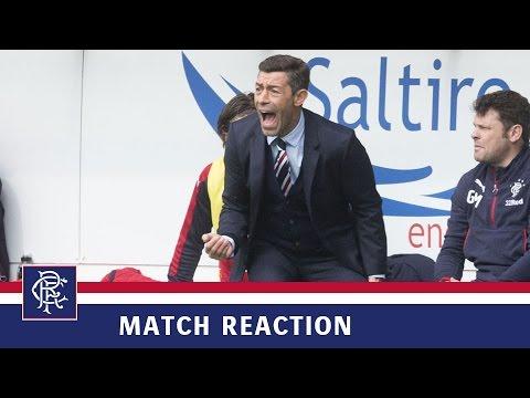REACTION | Pedro Caixinha | Aberdeen 0-3 Rangers